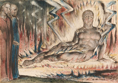 William Blake - Capaneus the Blasphemer