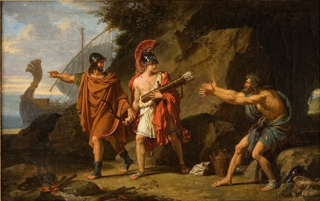 Ulysses_and_Neoptolemus_Taking_Hercules'_Arrows_from_Philoctetes,_1800_by_François-Xavier_Fabre