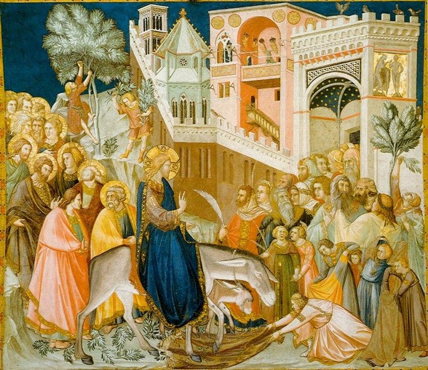 Pietro Lorenzetti - Entrata di Cristo in Gerusalemme 131x