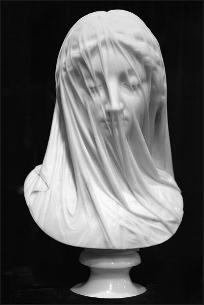 Giovanni Strazza, La vergine velata, 185x