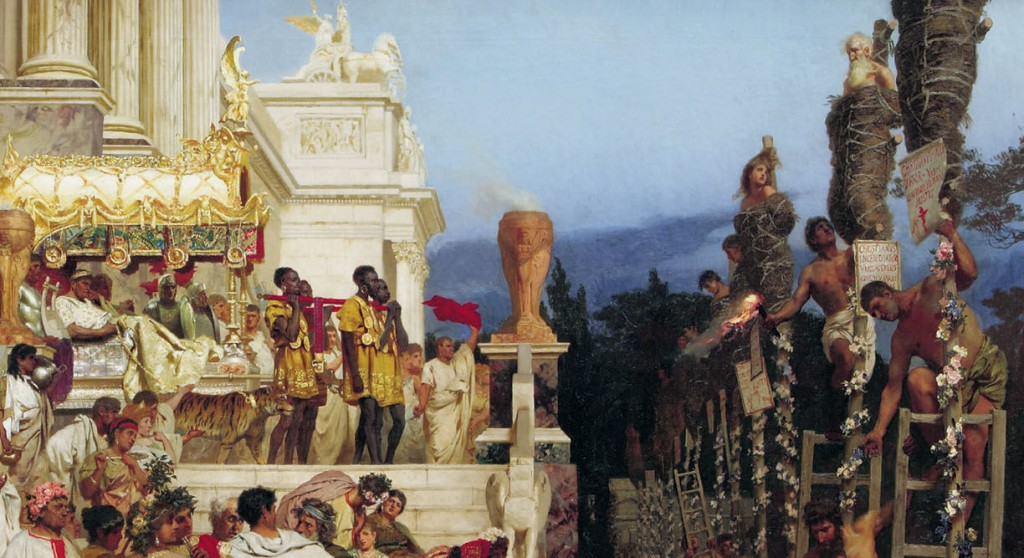 Nero's Torches - Henryk Siemiradzki