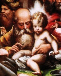 parmigianino detail