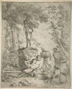 Giovanni_Benedetto_Castiglione_-_The_Feast_Before_the_Altar_of_Terminus