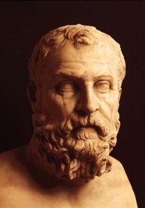 Busto di Solone (640 a.C ca-560 a.C ca), marmo