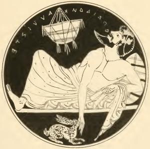 Tanagra,_5th_century_kylix_a_symposiast_sings_Theognis_o_paidon_kalliste