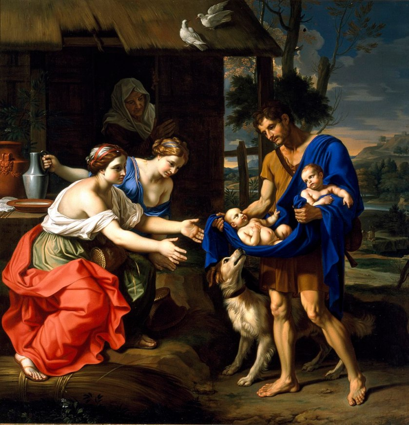 1024px-Mignard_-_The_Shepherd_Faustulus_Bringing_Romulus_and_Remus_to_His_Wife