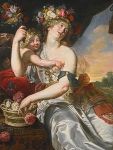 Abraham Janssens II, Allegorie van de lente