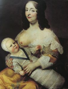 1024px-Louis_XIV_as_an_infant_with_his_nurse_Longuet_de_la_Giraudiére