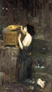 John William Waterhouse, Pandora, 1896
