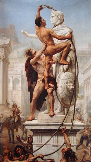 300px-Sack_of_Rome_by_the_Visigoths_on_24_August_410_by_JN_Sylvestre_1890