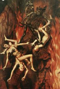 Hans Memling, Het laatste oordeel, 1466-73 (detail)