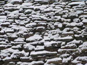 snow stones