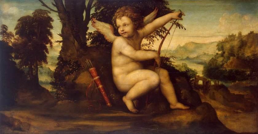 Sodoma, Cupido in un paesaggio, ca. 1510