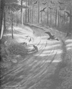 Theodor Kittelsen, Fattigmannen, 1894-95