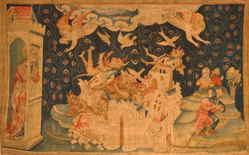 Val van Babylon (tapijt uit Angers, Frankrijk)