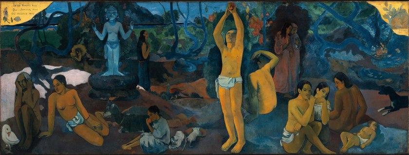 Paul Gauguin, D'où venons-nous, que sommes-nous, où allons-nous, 1897