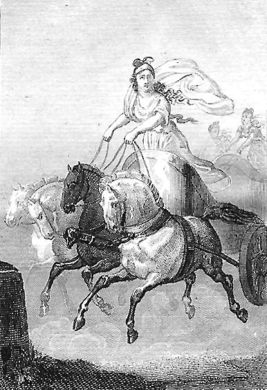 Sophie de Renneville, Cynisca, voor 1823