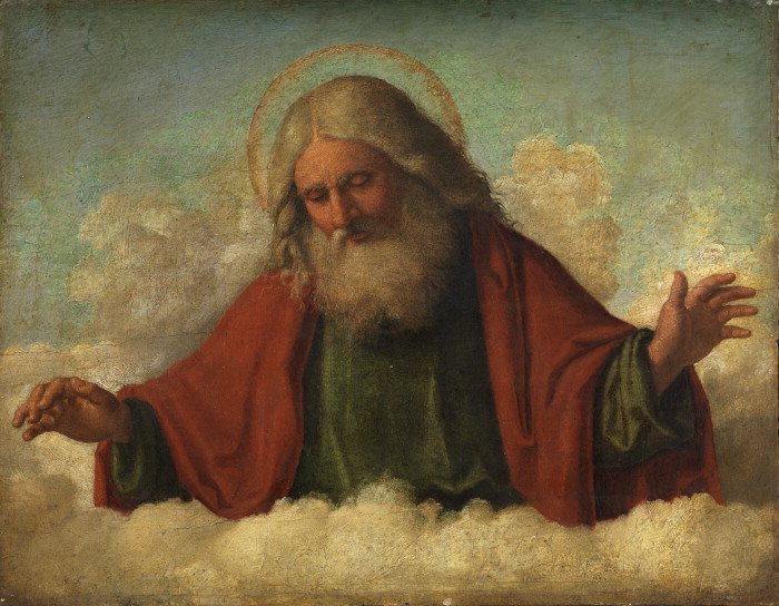 Cima da Conegliano, Dio padre, ca. 1510-17