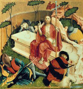 Hans Multscher, Die Auferstehung Christi, 1437
