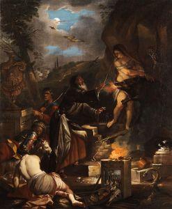 Domenicus van Wijnen, De heksenmeester