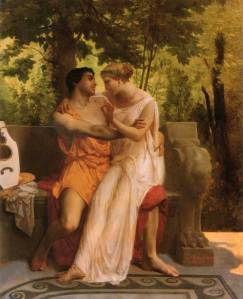 William-Adolphe Bouguereau, Idylle, 1851