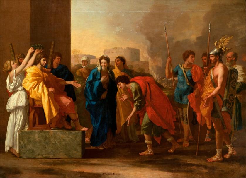 Nicolas Poussin, La continence de Scipion, 1640