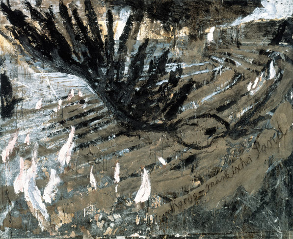 Anselm Kiefer, Ikarus - Märkischer Sand, 1981