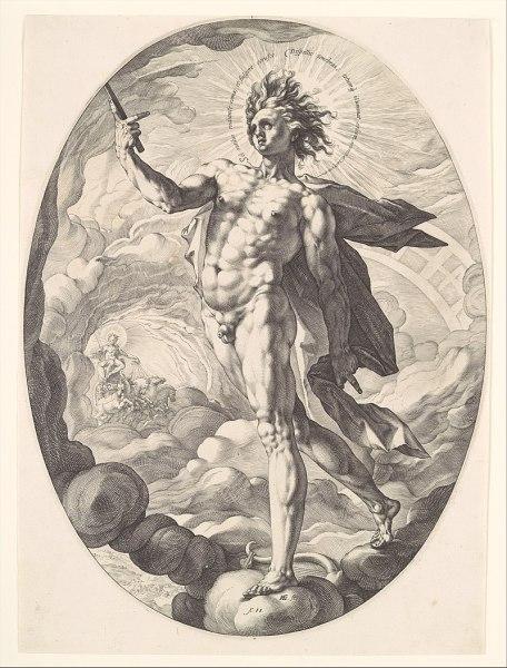 Hendrick Goltzius, Apollo (2)