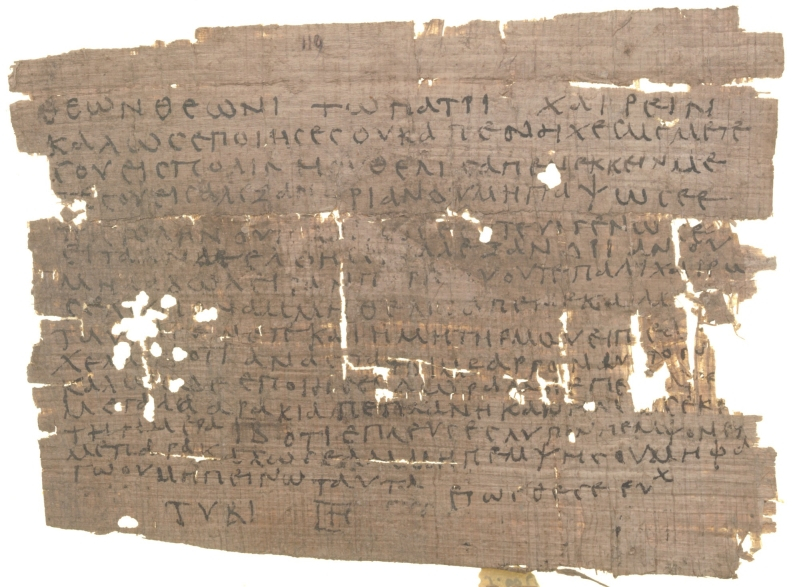 Oxyrhynchus papyrus 1.119 (Theon)