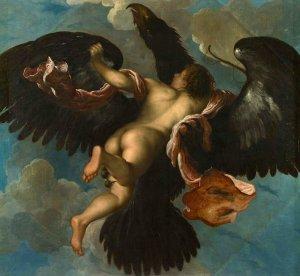 Damiano Mazza, Il ratto di Ganimede, 1611-12