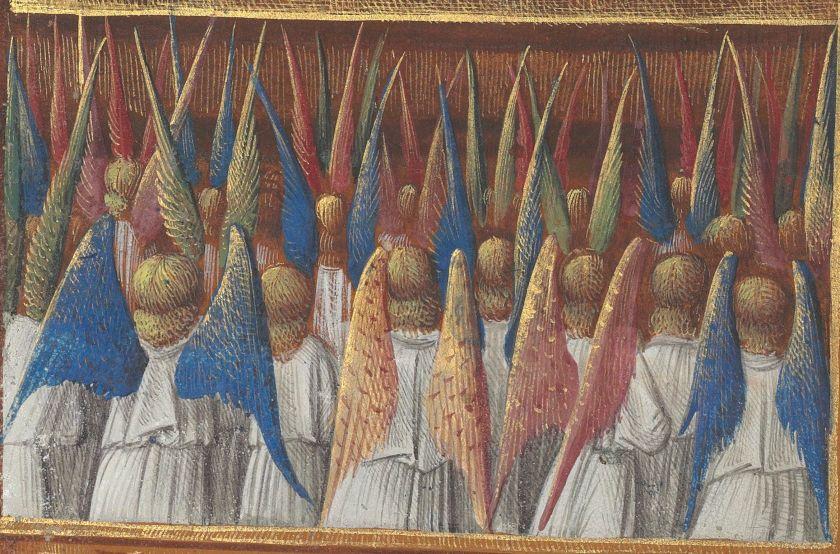 Engelenkoor, Bibliothèque nationale de France, Département des manuscrits, Latin 920, fol. 51v