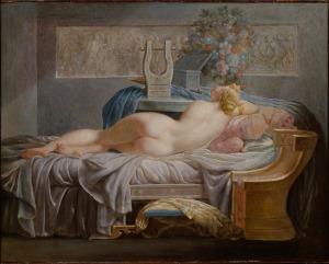 Anne-Louis Girodet (toegeschreven aan), Sappho, ca. 1800