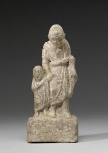 Paedagogus en jongen, 3e-2e eeuw vC