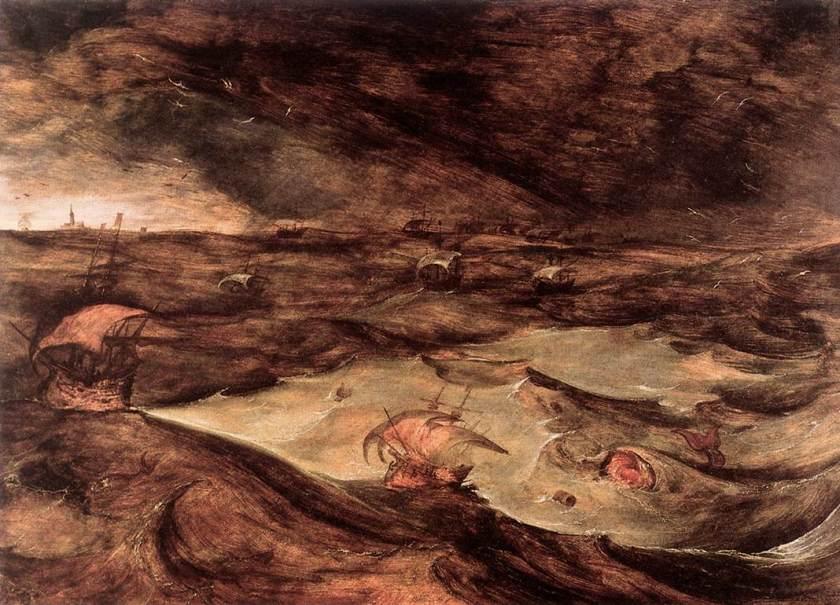 Pieter Bruegel I, De storm, ca. 1569