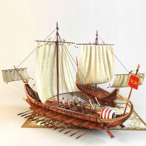 roman-warship-3d-model-max-fbx