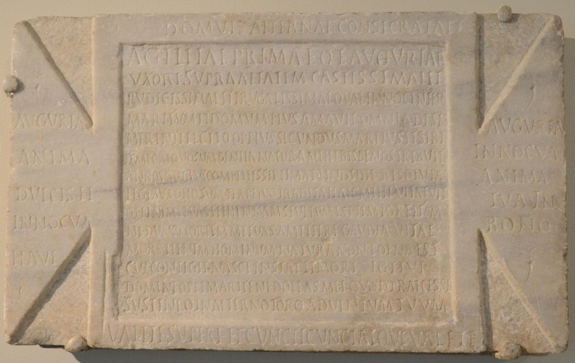Agileia Prima, CIL VI 11252