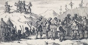 Decimation_by_William_Hogarth_Beavers_Roman_Military_Punishments_Chapter_4_1725-1