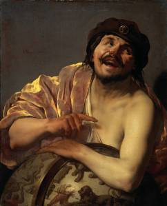 Hendrick ter Brugghen, Democritus, 1628
