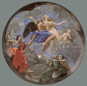 Nicolas Poussin, Le Temps soustrait la Vérité aux attaques de l'Envie et de la Discorde, 1641