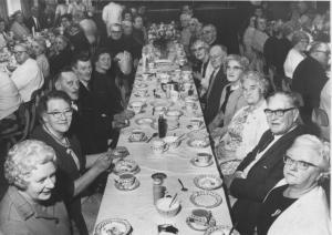Church Warsop Miners Welfare Old People party 1973