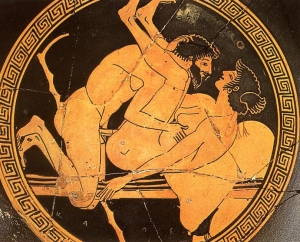 Sexual_scene_at_a_red-figure_tondo_of_a_kylix_at_the_Museo_nazionale_(Tarquinia)