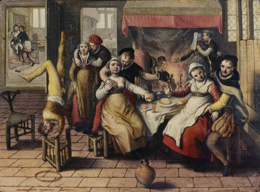 Joachim Beuckelaer, Bordeel, 1562