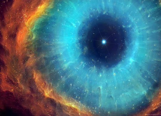Eye-Of-The-Cosmos-Taken-From-The-Hubble-Telescope