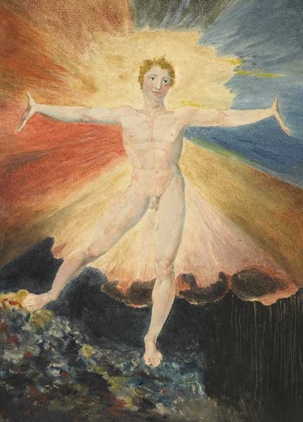 William Blake, Albion Rose (Glad day; The dance of Albion), ca. 1794 (2)