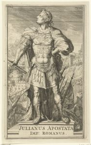 romeyn de hooghe, portret van julianus apostata, 1701
