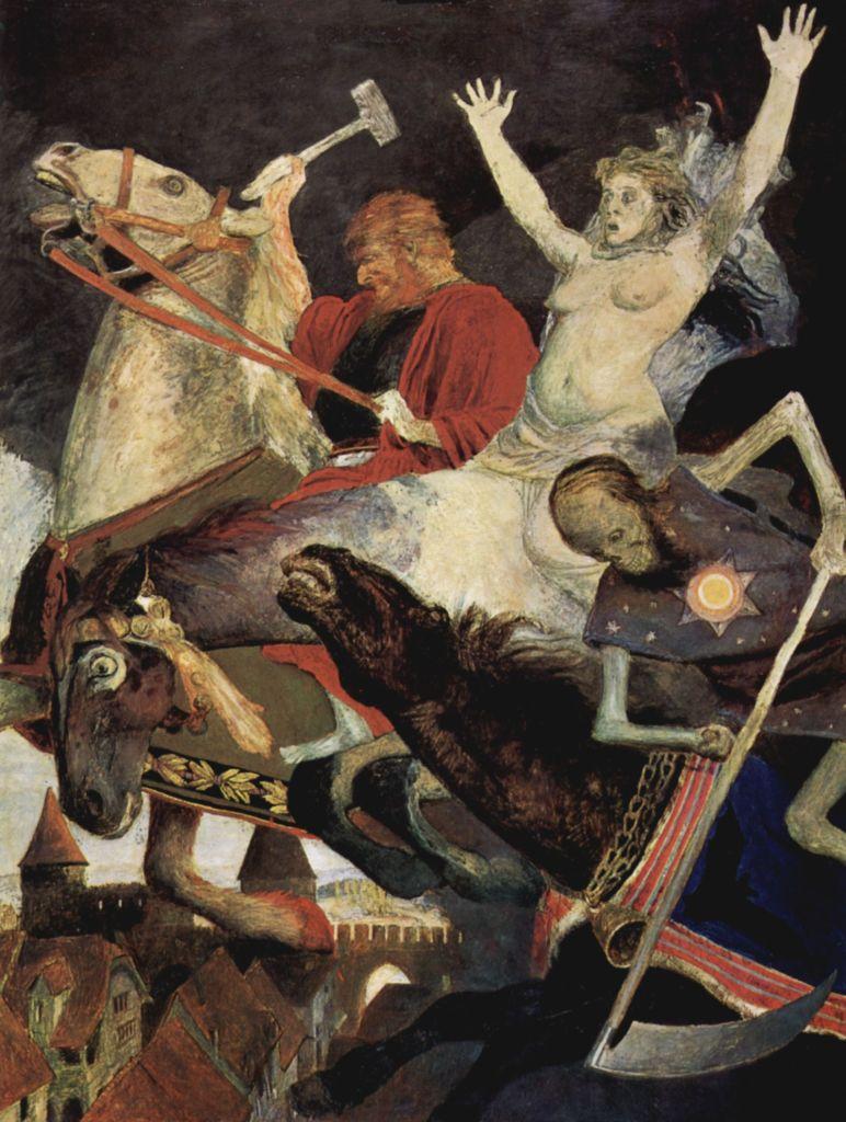 Arnold Böcklin, Der Krieg, 1896