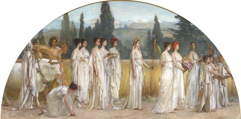 Francis Davis Millet, Thesmophoria, 1894-97