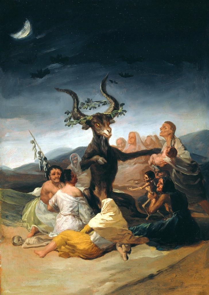 Francisco de Goya, El Aquellare, 1798