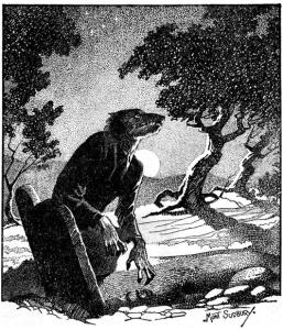 Mont Sudbury, The werewolf howls