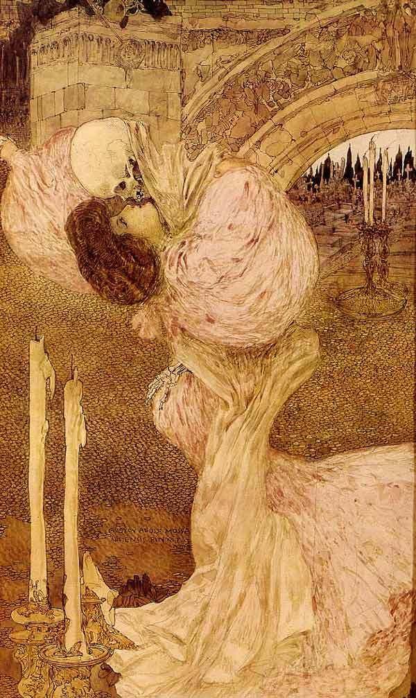 Gustav-Adolf Mossa, Valse macabre, 1906